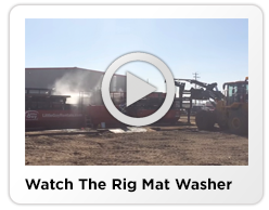 rig mat washing equipment